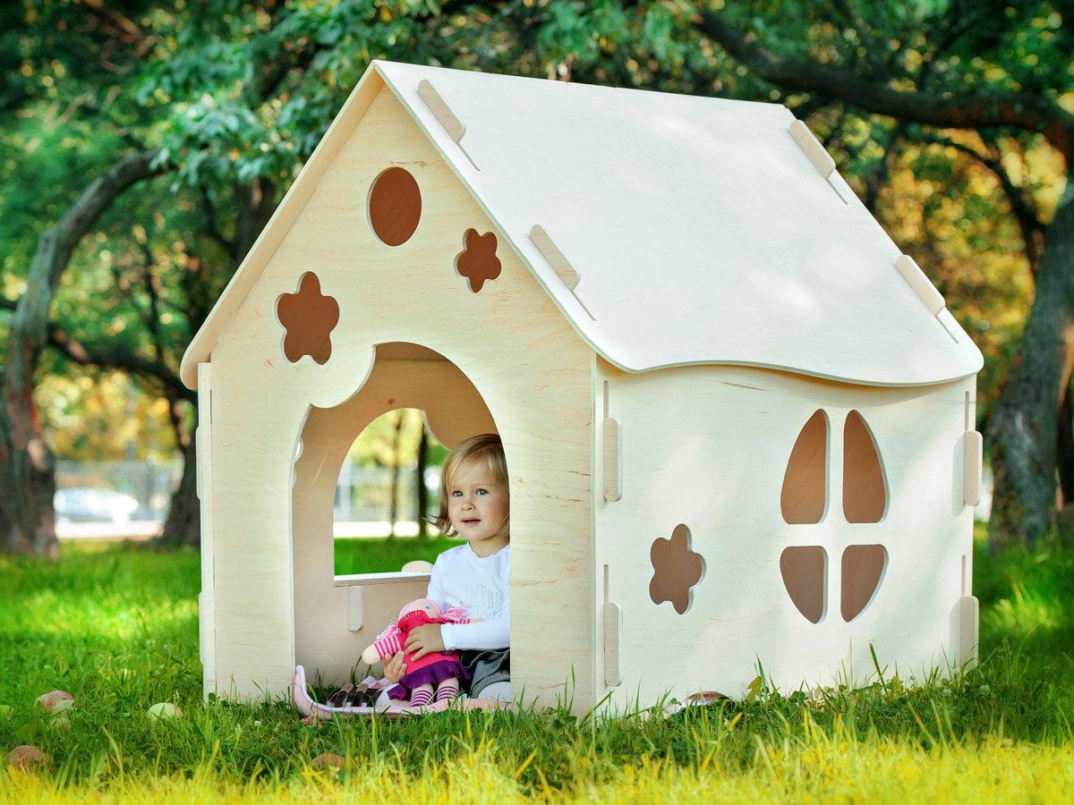 Домик для детей своими руками. Фото. Складной домик для детей 46