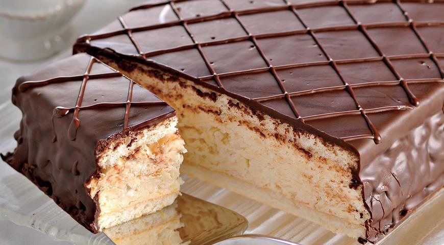 Торт птичье молоко рецепт пошаговый с фото