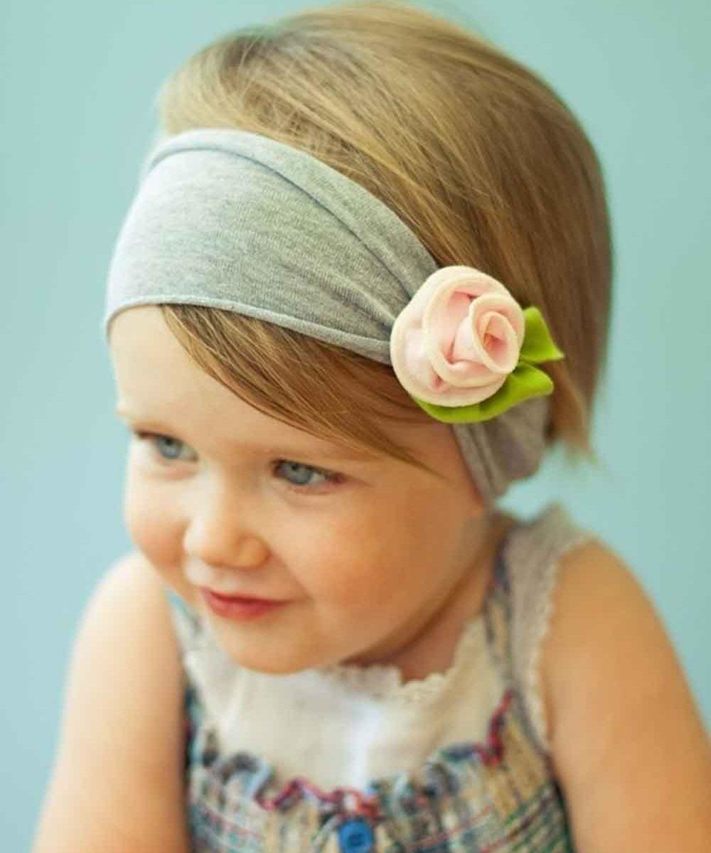 Прически для маленьких девочек с ободком