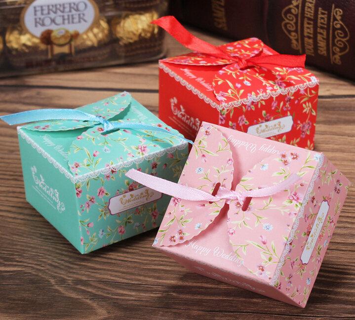 Коробки упаковки для конфеты своими руками 597