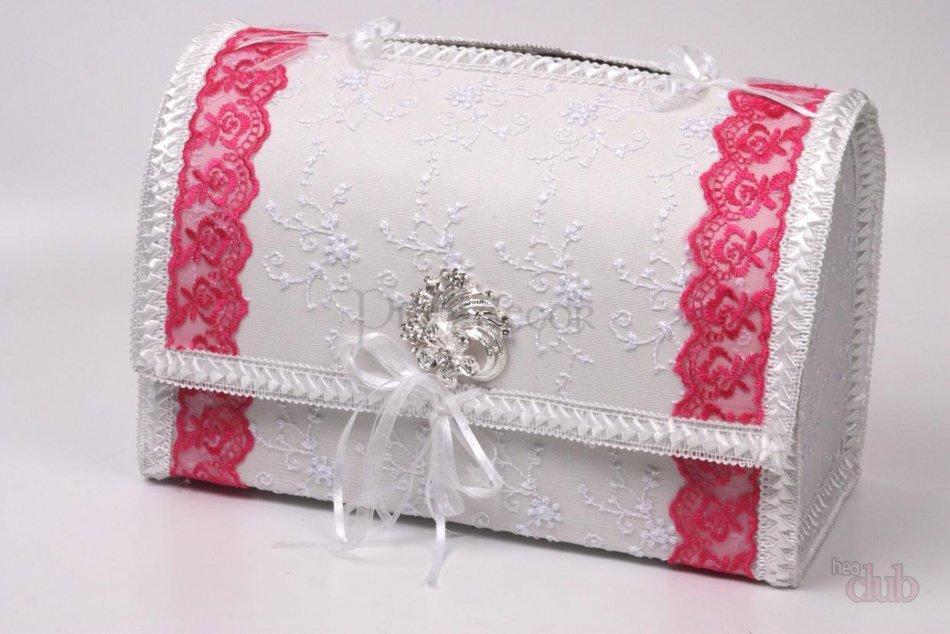 Украсить свадебную коробку для денег своими руками 72