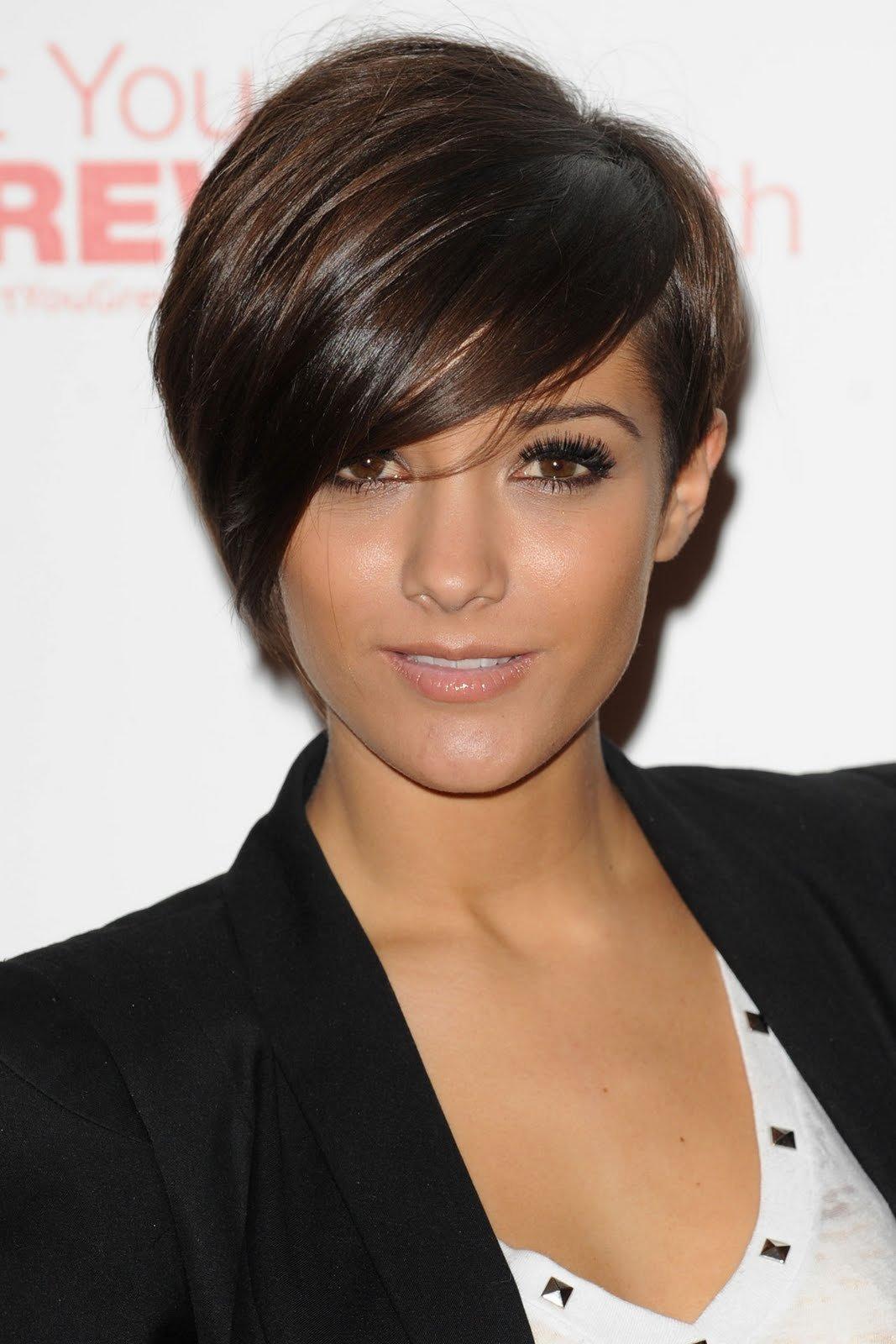 Женские короткие стрижки на темные волосы стрижки