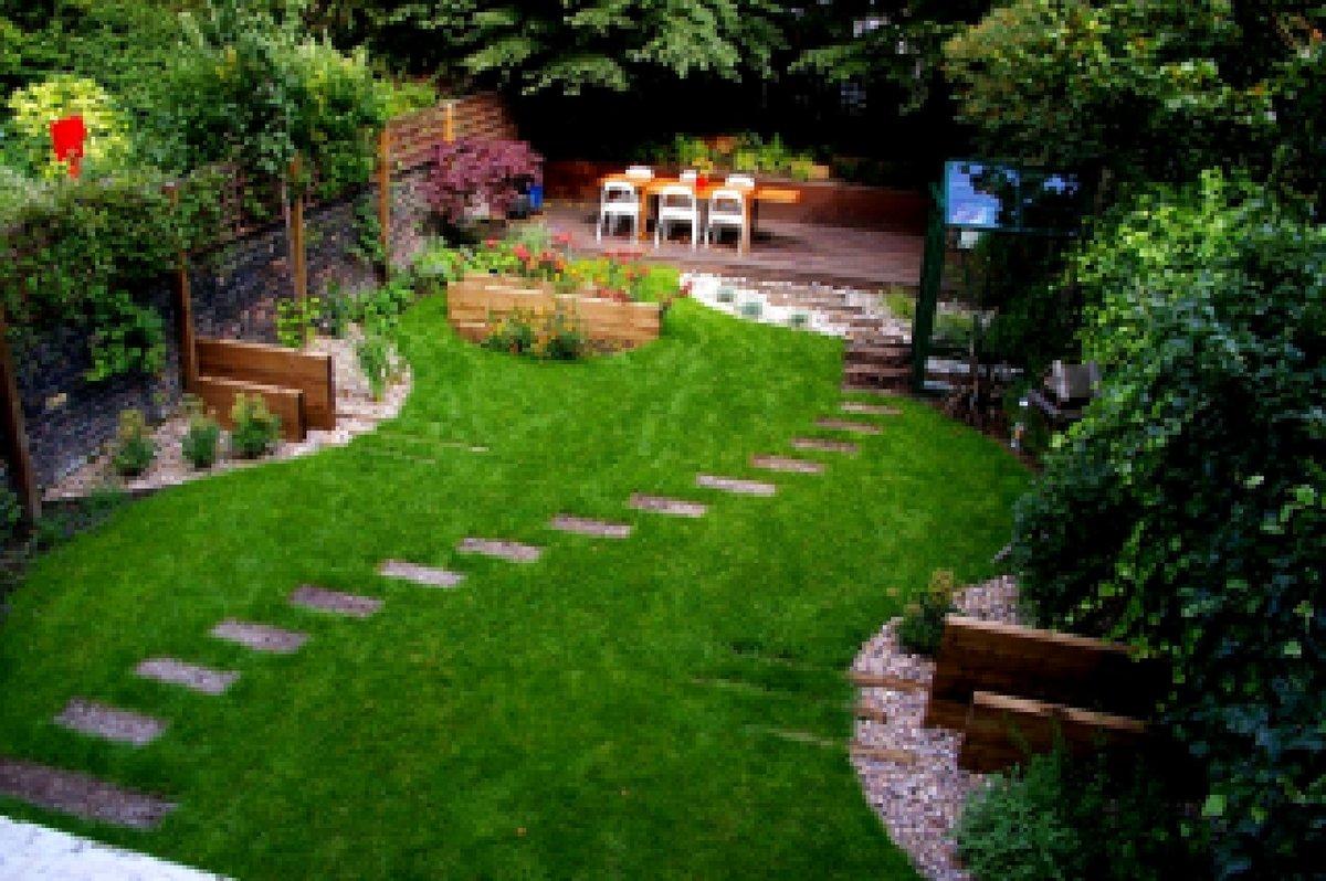 Ландшафный дизайн приусадебного участка