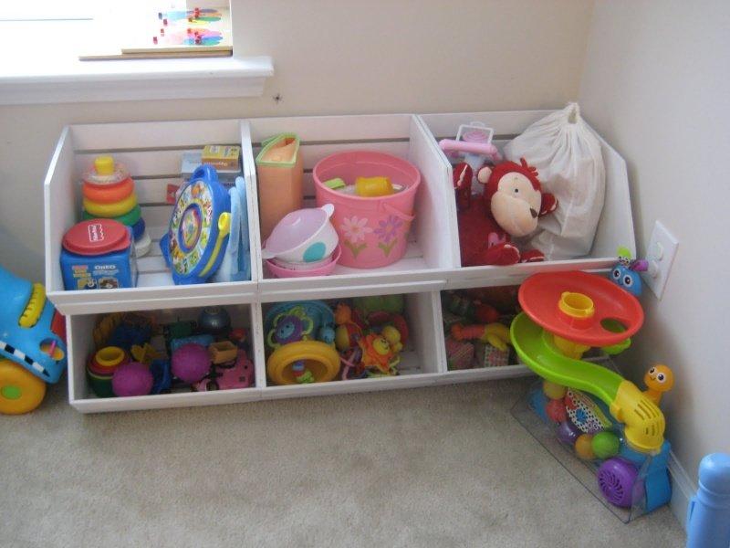 Стеллаж для хранения игрушек своими руками 2676