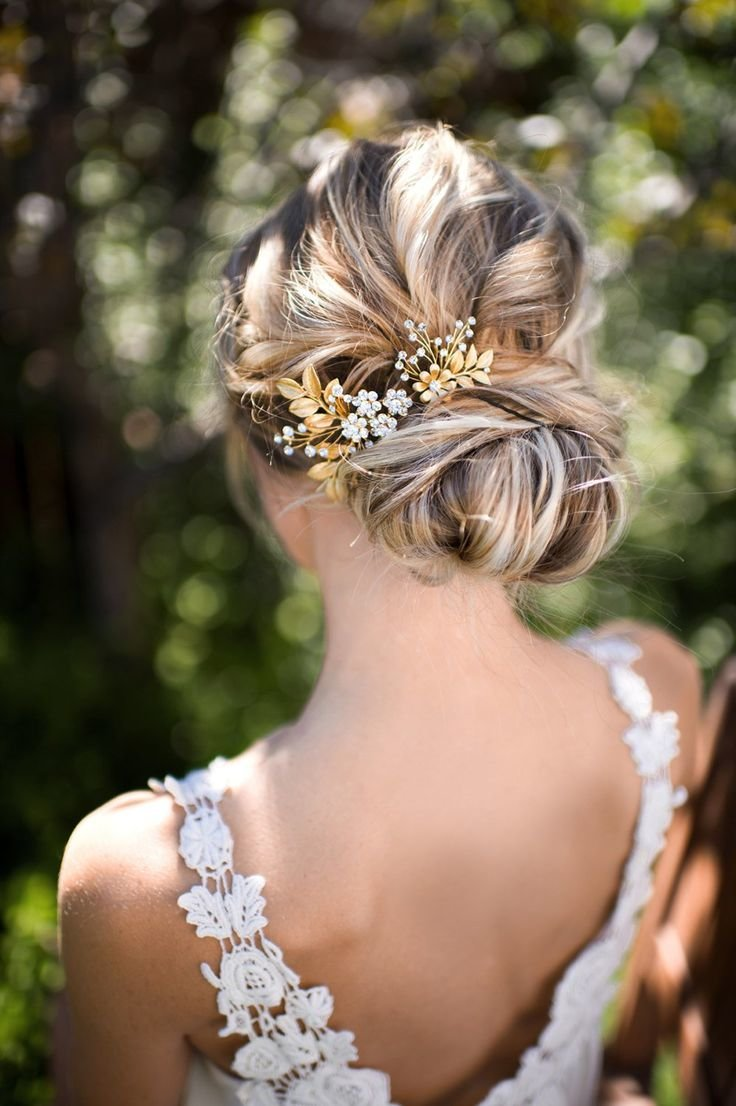 Красивые свадебные прически для каждого типа волос. 151 лучшее фото 56