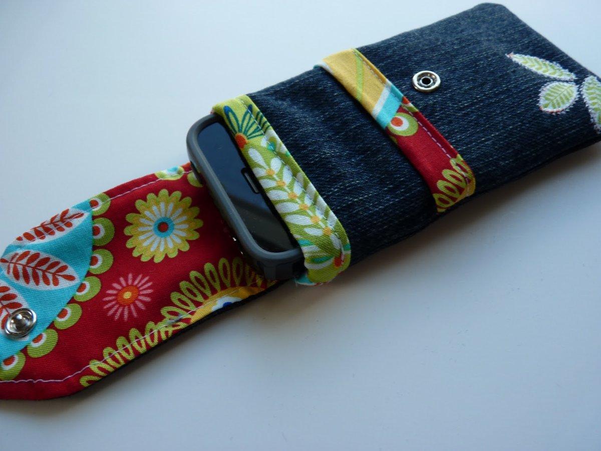 Чехол для мобильного телефона своими руками из джинса 42
