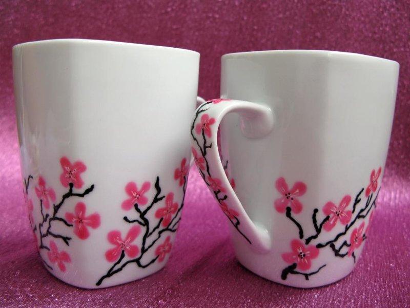 Роспись на чашках своими руками