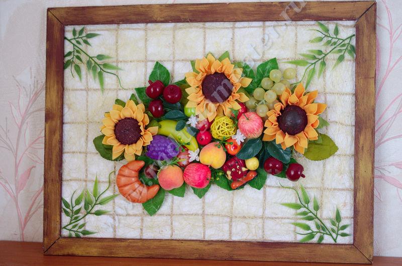 Картина сделанная своими руками на кухню 144