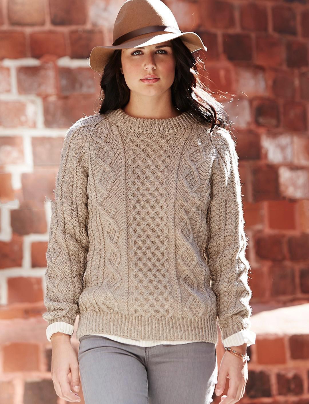 Вязание спицами кофты свитера женские 993