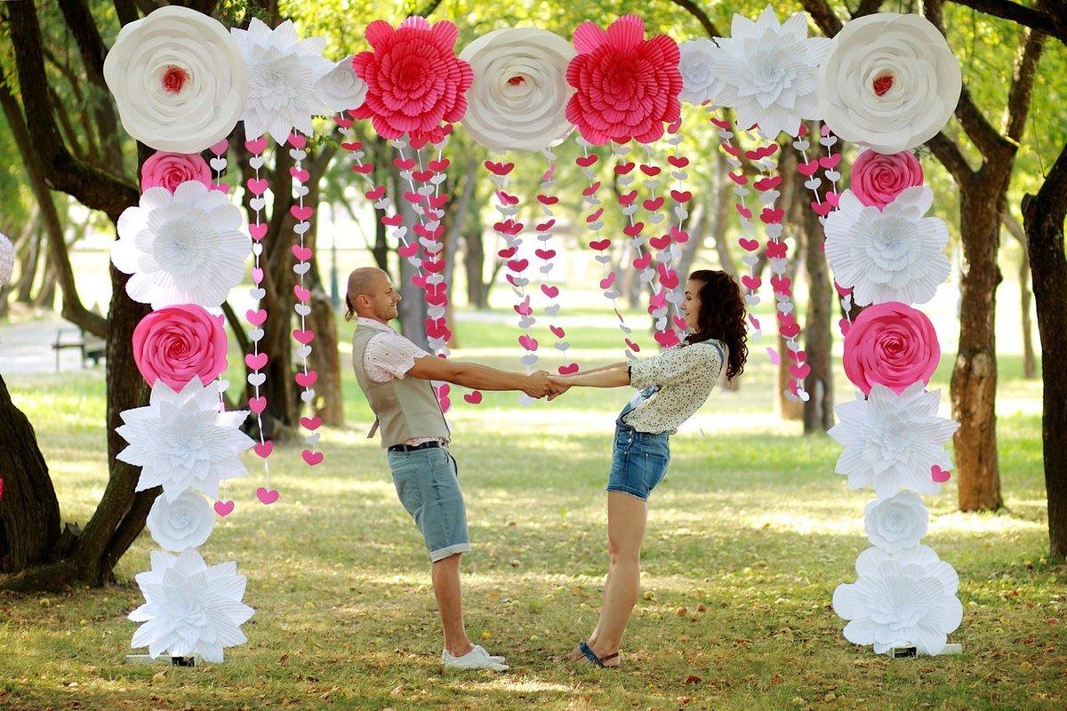 Идеи для свадебной фотозоны своими руками 95