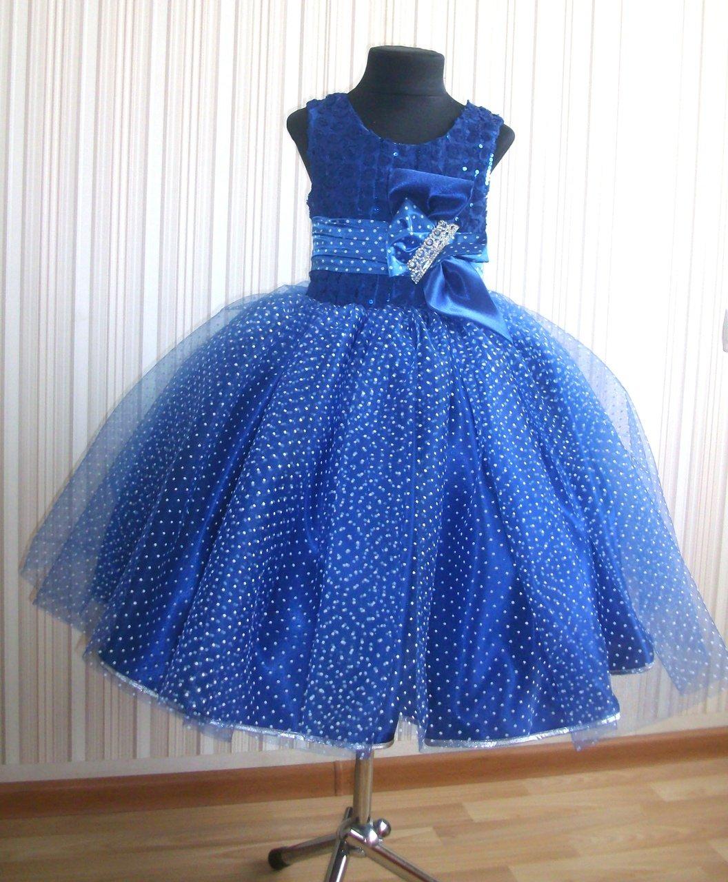 Праздничное платье для девочки своими руками фото