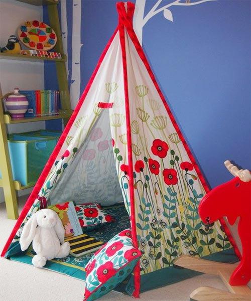 Палатка для ребенка своими руками из ткани 37