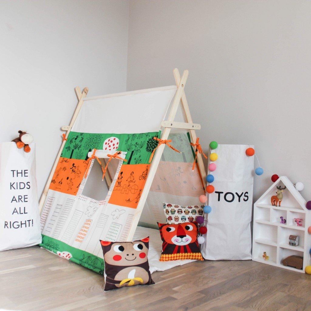 Детский домик-палатка своими руками 41