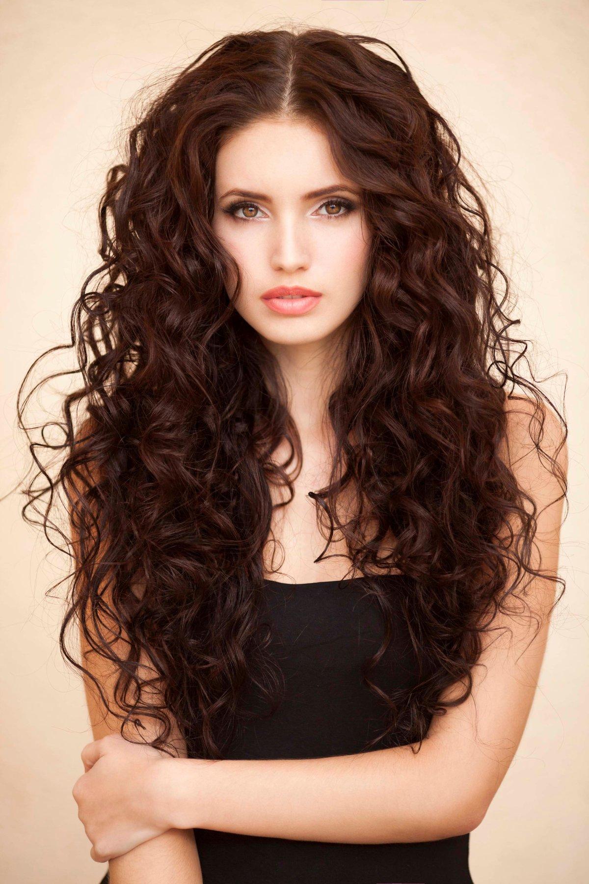 Прическа кудри на длинные волосы как сделать