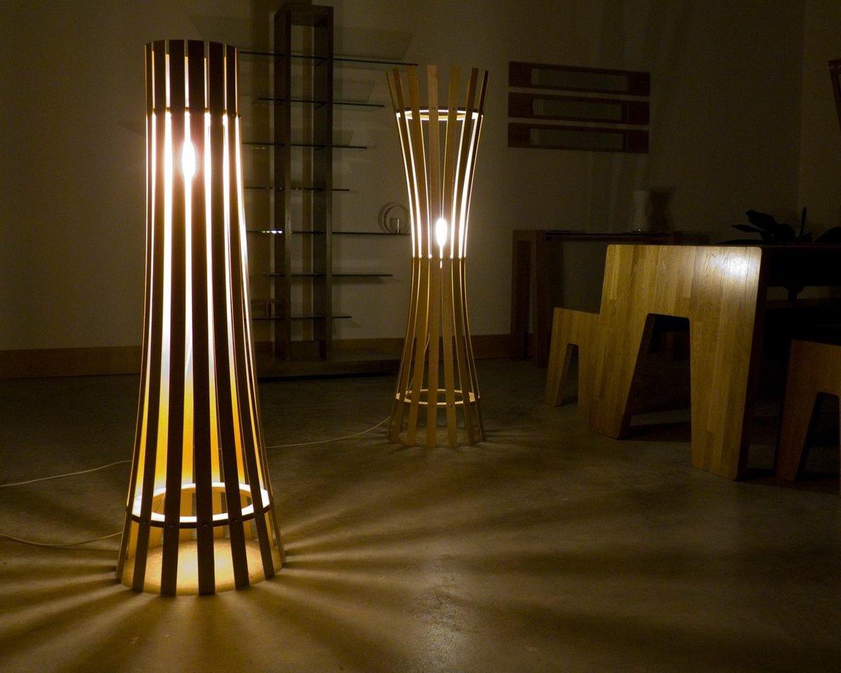Фото напольных ламп своими руками
