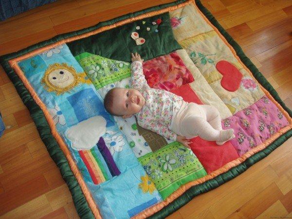 Коврик для малыша своими руками как сшить 4