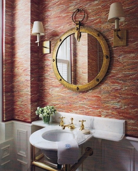 Декорирование ванной комнаты своими руками фото 47