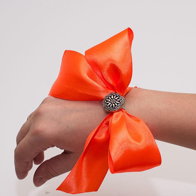 Бант на руку для подружек невесты своими руками 168