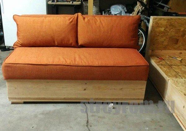 Сидушка для дивана своими руками 48