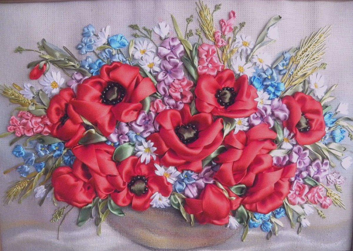 Сочетание цветов при вязании градиента 642