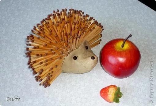 Поделки из продуктов для детского сада