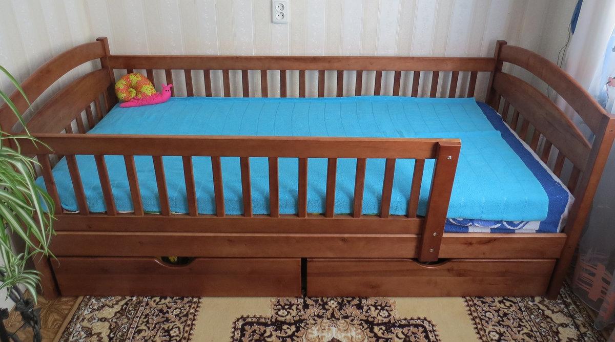 Кровати для детей 2 лет с бортиками фото