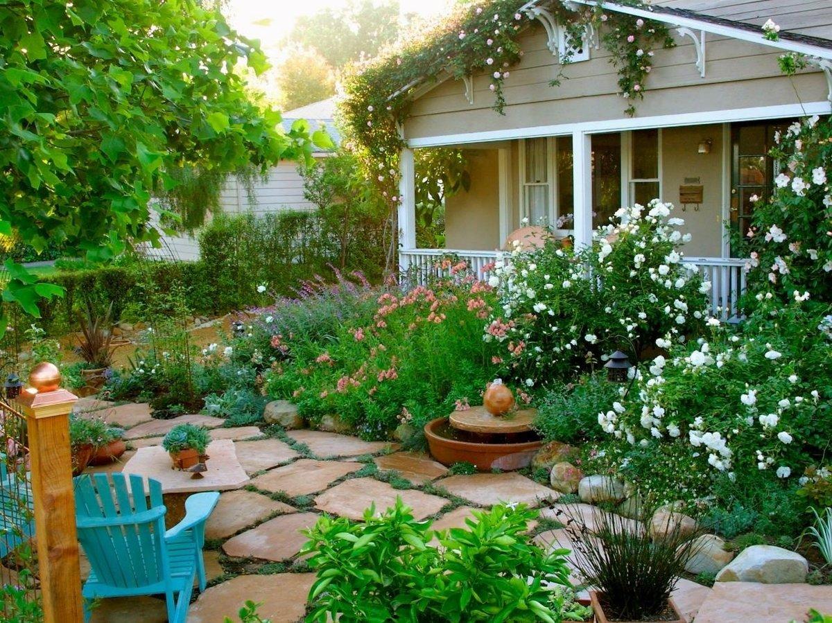 Как сделать красивым свой садовый участок своими руками фото