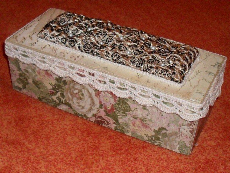 Декорирование коробочки своими руками 474
