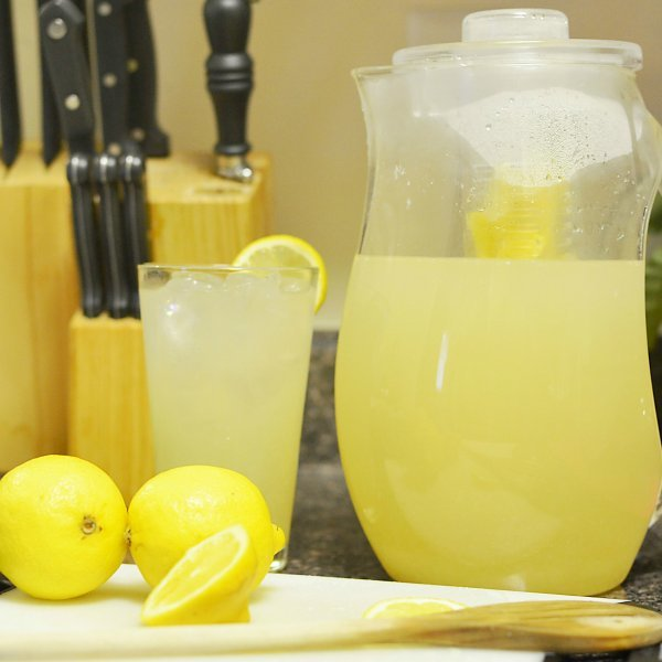 Как сделать из лимона освежающий напиток 224