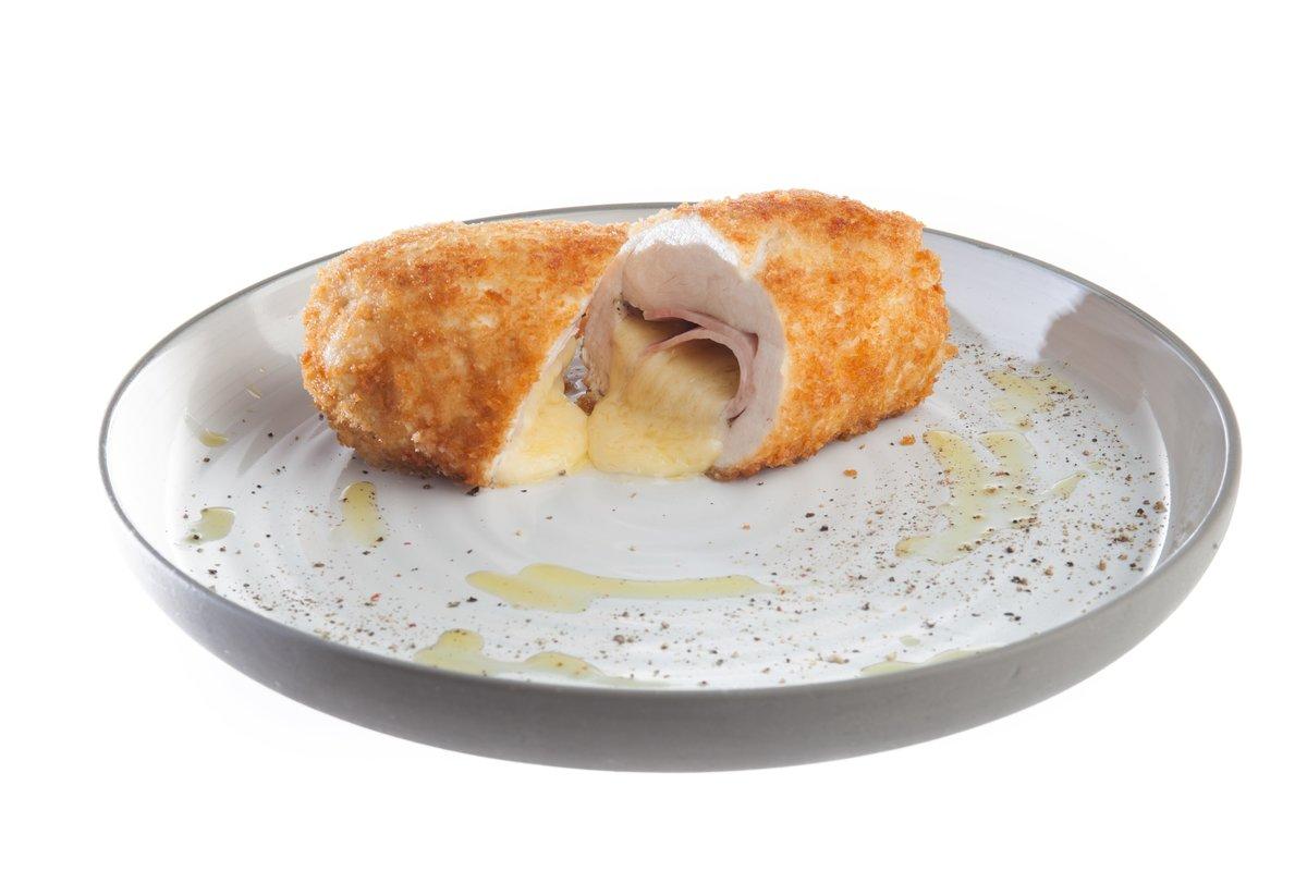 Курица с ветчиной и сыром в духовке рецепт пошагово