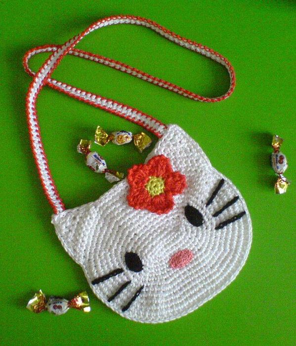 Вязание для девочек сумки 68
