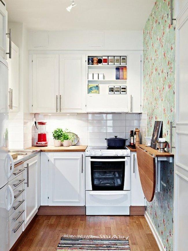 Контакт идеи для маленьких кухонь хрущевка фото