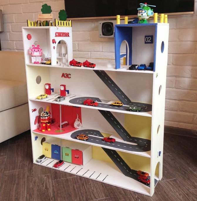 Парковка гараж для ребенка своими руками фото 763