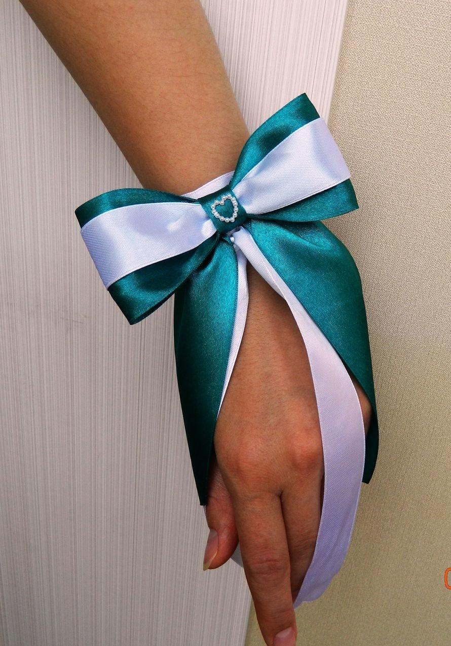 Бант на руку для подружек невесты своими руками 321