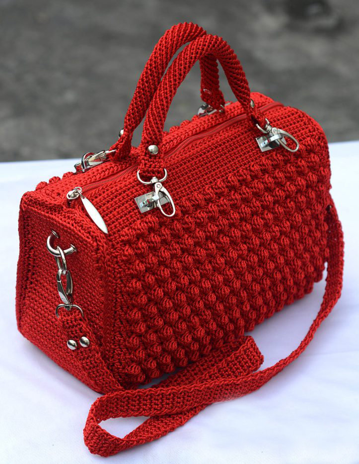 Вяжем сумки крючок модное вязание ниола 80
