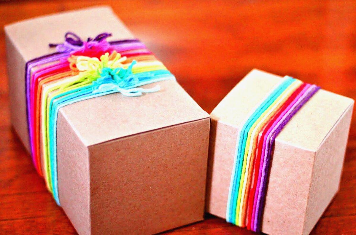 Интересные коробки для подарков своими руками 15