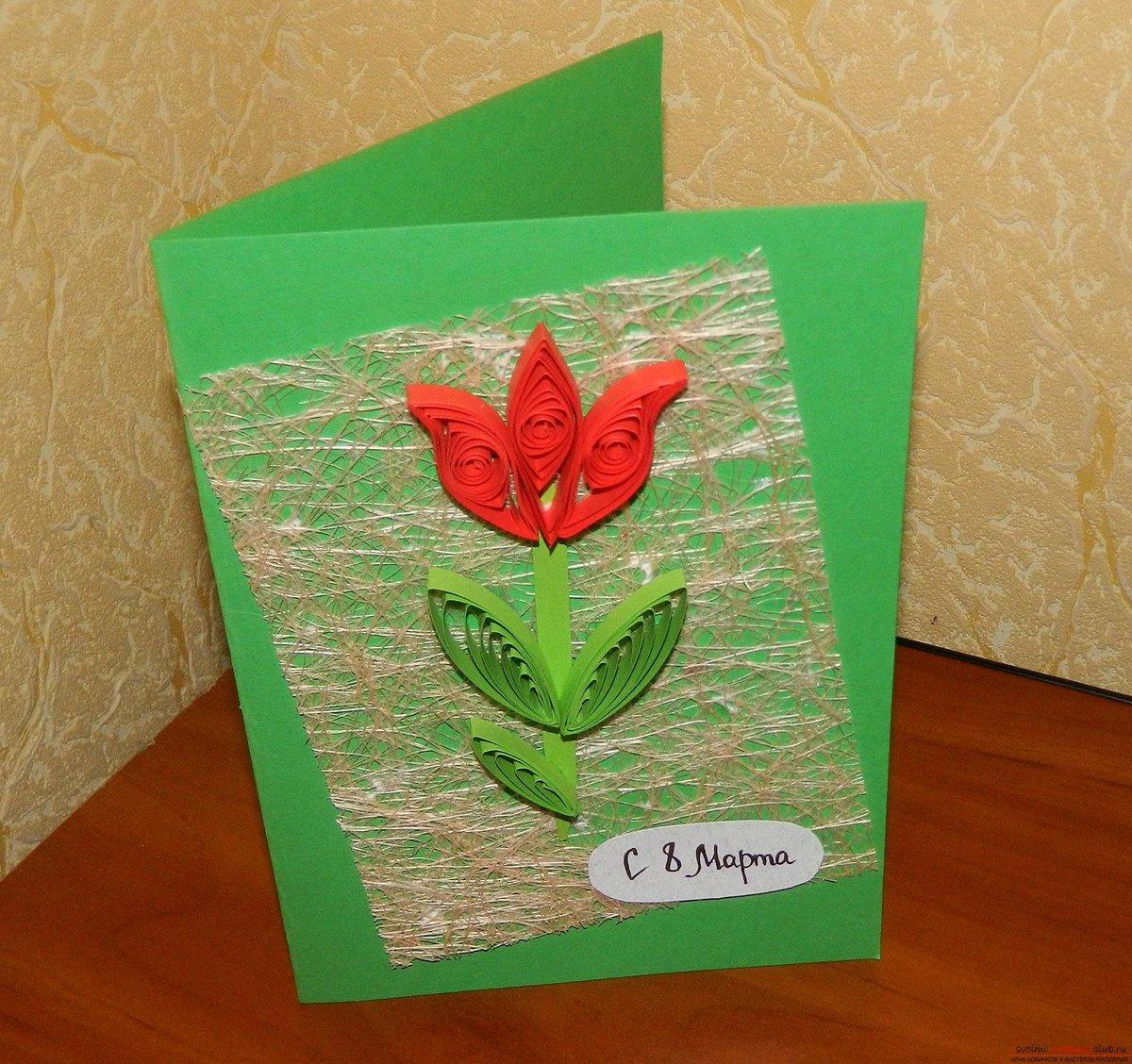Как сделать открытку для бабушки