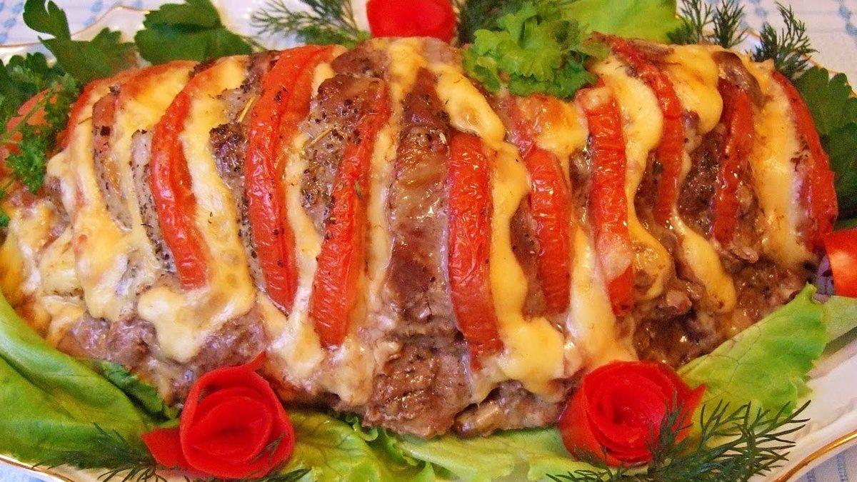 Мясная книжка из свинины рецепт пошагово