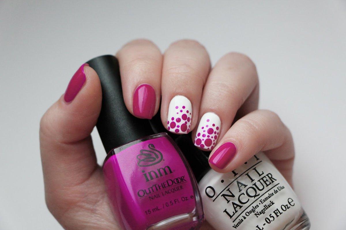 Шеллак Фиолетовый Фото На Короткие