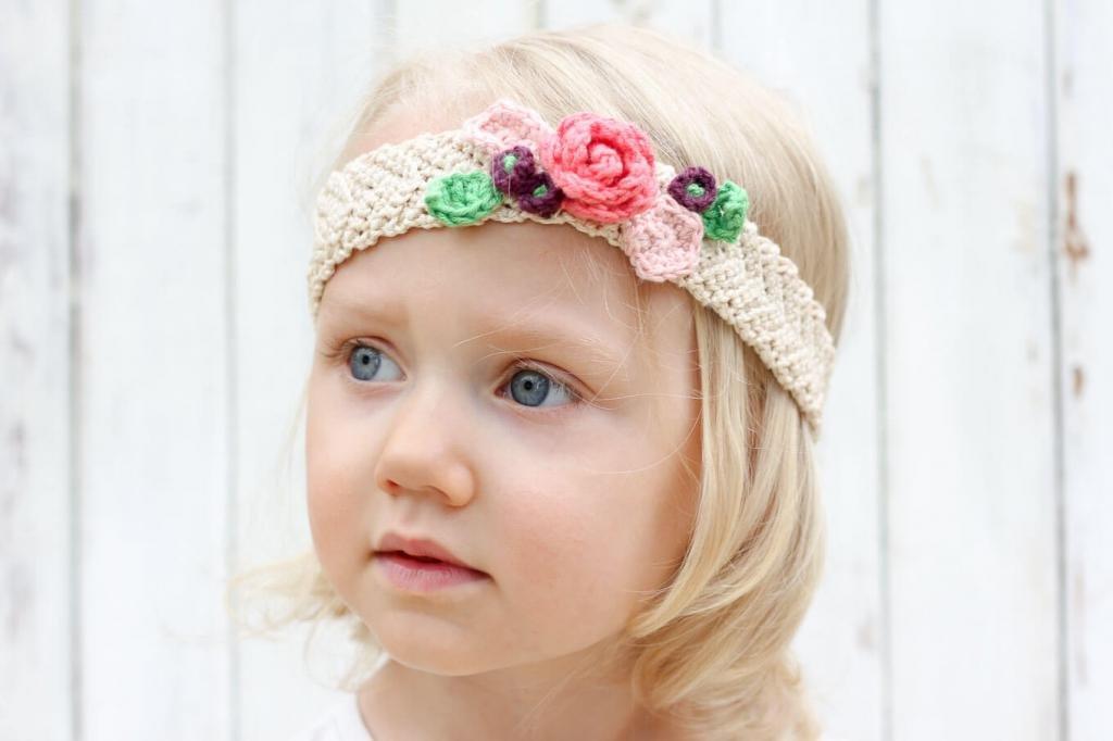 Детская повязка на голову своими руками 49