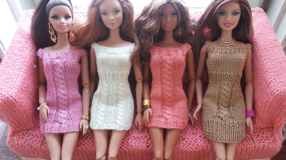 Вязан наряды для кукол
