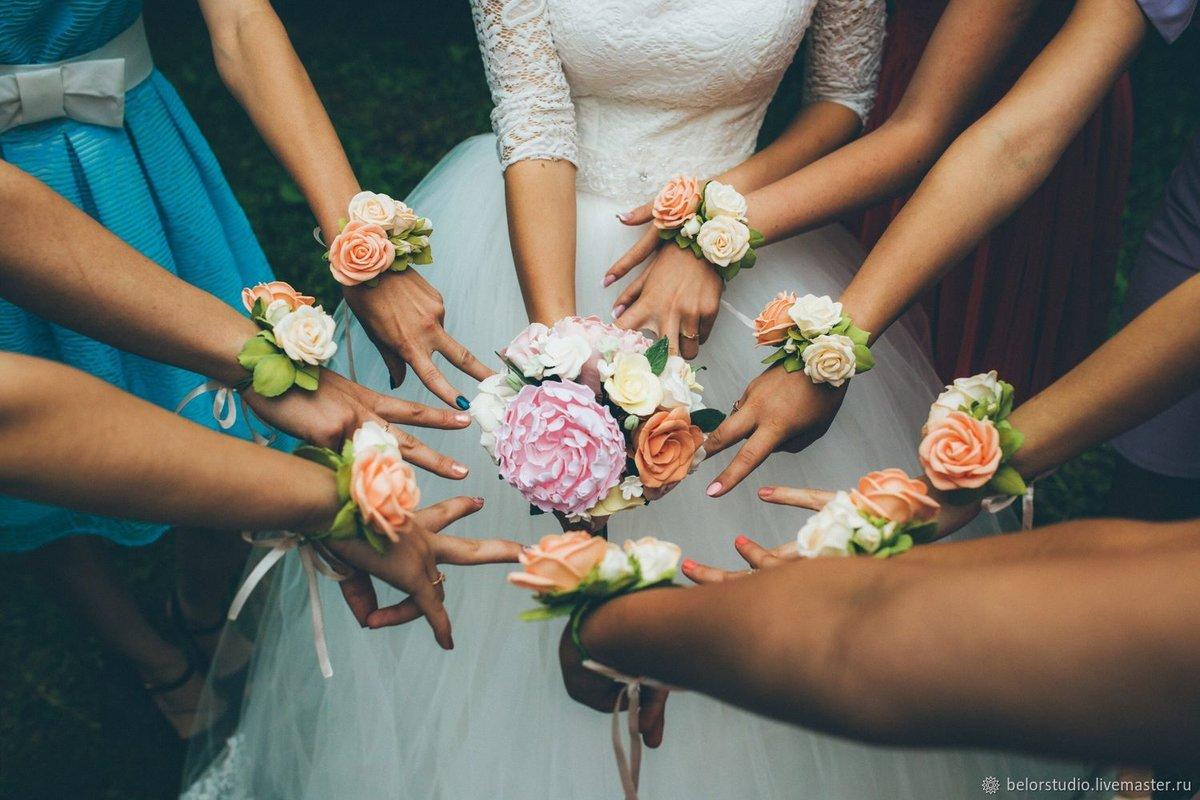 Браслеты для подружек невесты: оригинальное украшение на руку 53