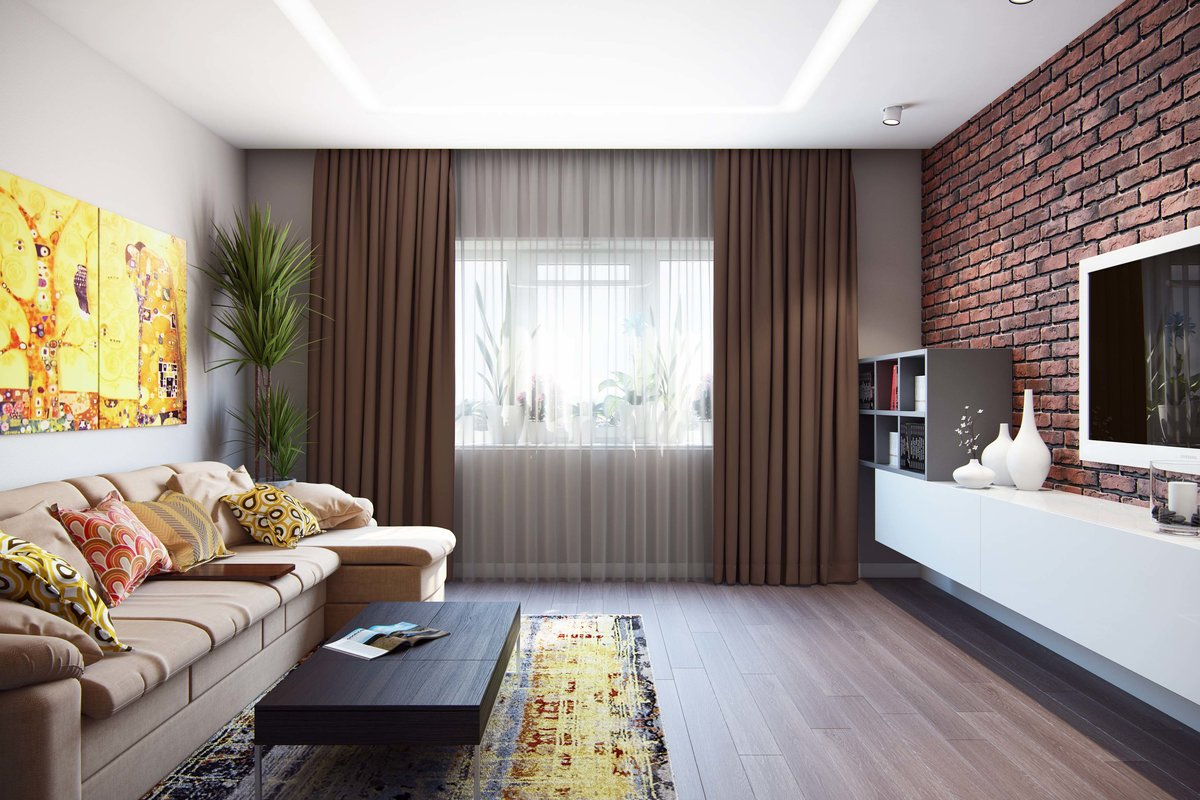Дизайн зала 18 кв м в квартире 3 двери