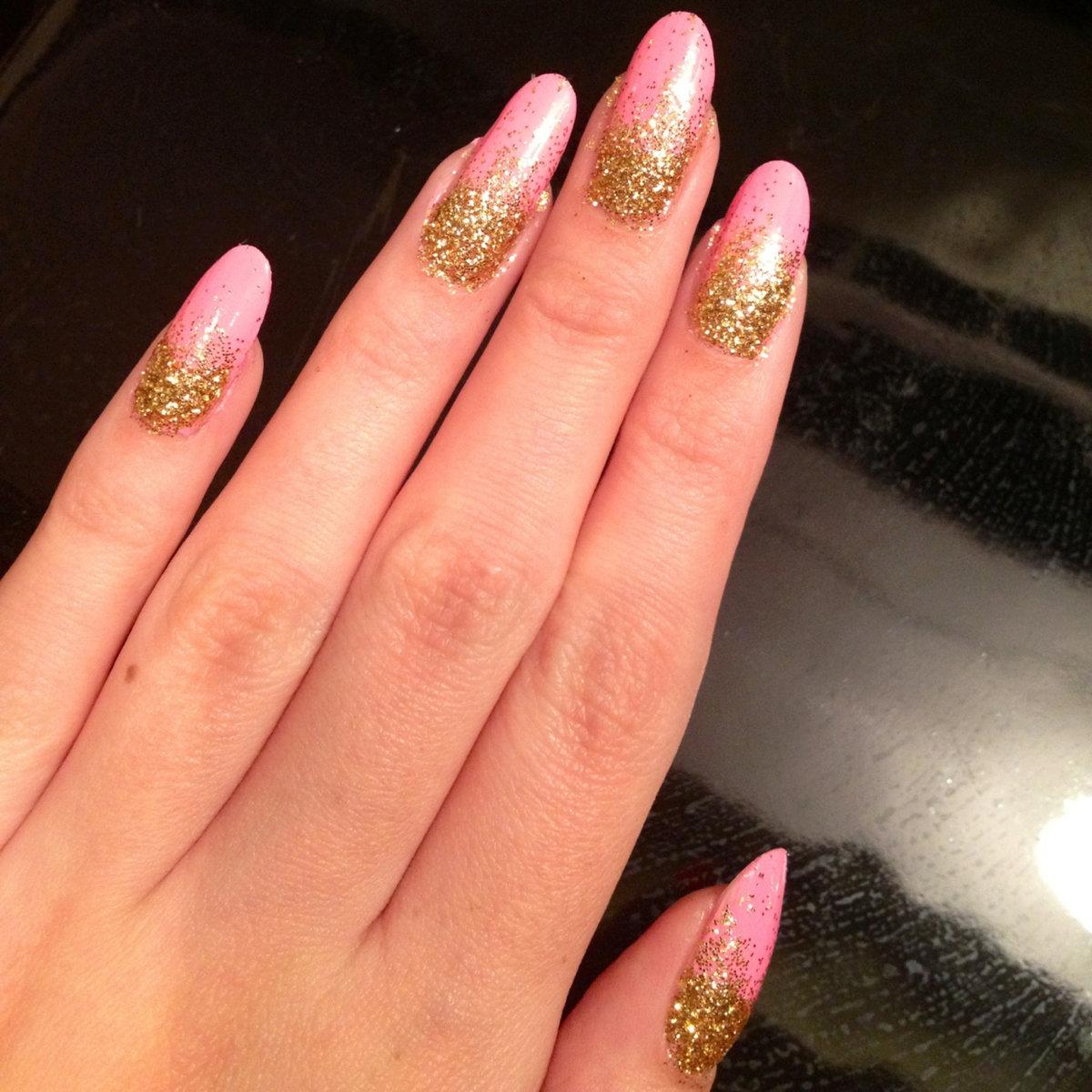 Ногти овальной формы дизайны фото