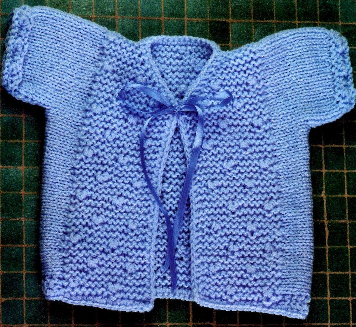 Вязание спицами кофточка для новорожденного спицами 41