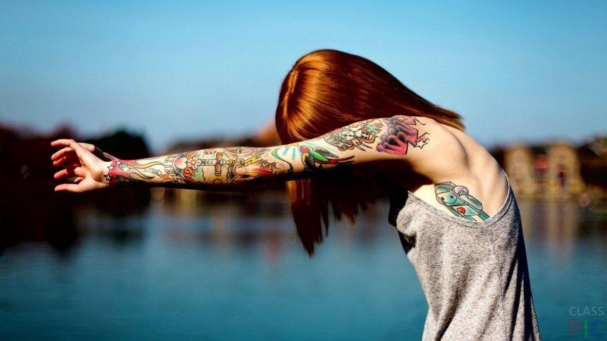 Татуировки на ладонях для девушек фото