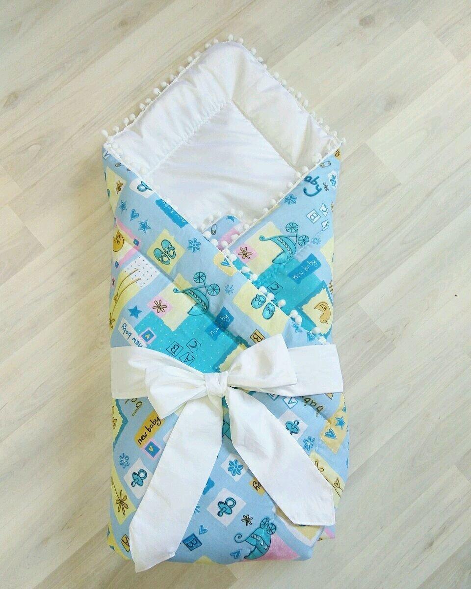 Конвертик для новорожденного своими руками