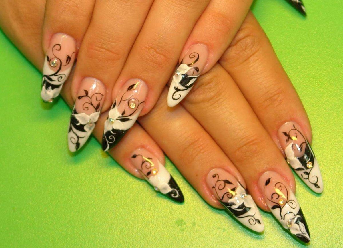 Дизайн ногтей френч. 180 фото 38