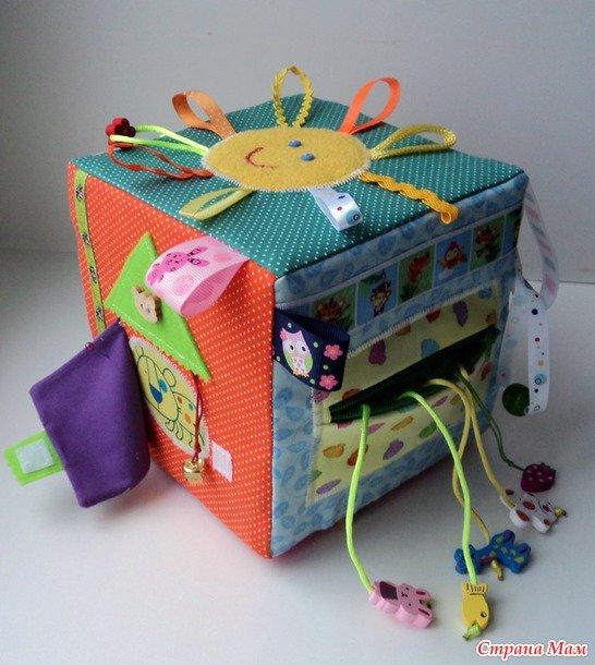 Кубики для детей до года своими руками 937