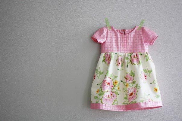 Из чего сшить ребенку платье 642